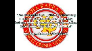 Alpha Kappa Rho 45th Anniversary Video Greetings