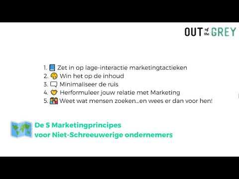 Marketing voor Introverte Ondernemers thumbnail