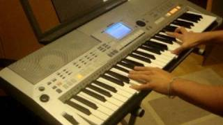 KEYBOARD Cover  DragonForce - STORMING THE BURNING FIELDS