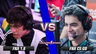 fnx CS 1.6 vs fnx CS:GO