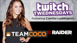 Twitch Twednesday Highlight 10/8/14 - Camilla Luddington  - CONAN on TBS