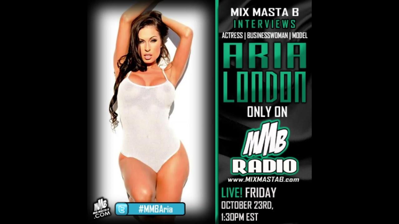 Mix Masta B Interviews Actress, Businesswoman, Model Aria London On MMB Radio