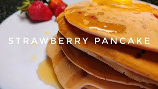 Strawberry pancake - HOME STYLE &amp IN 15 MINS