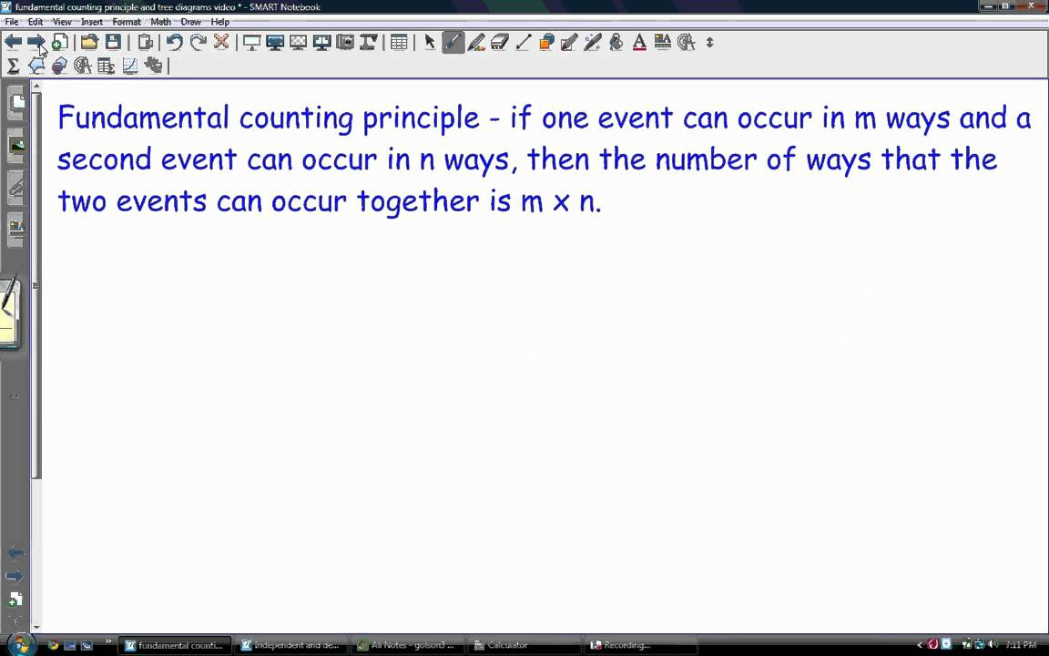 Fundamental counting principle and tree diagram youtube fundamental counting principle and tree diagram ccuart Gallery