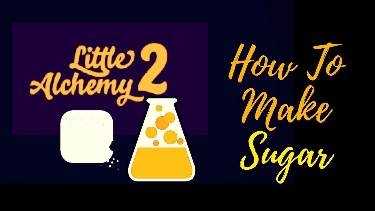 little alchemy how to make sugar