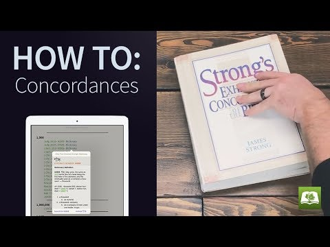 How To: Concordances - YouTube