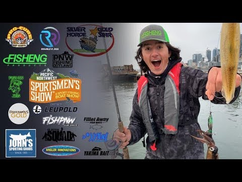 HOW TO CATCH SQUID |Puget Sound Squid Fishing🦑