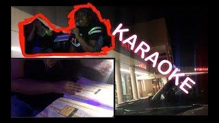 KARAOKE (KAREN ALMOST CHOKES)