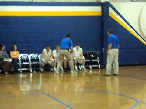Kevin Kemp Lee Christian School Basketball 12/3/10 Part 4