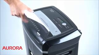 Aurora AU1200XD Compact Desktop-Style 12-Sheet Crosscut Paper and CD/Credit Card/Junk Mail