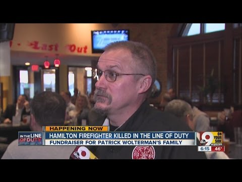 Former firefighters raise money for fallen Ohio firefighter