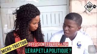 Micro trottoir sur la Rap et le politique (bande annonce)
