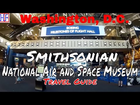 Washington, D.C | National Air and Space Museum | Tourist Attractions | Episode# 8