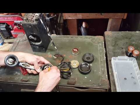 WW2 EE-8 Signal Corps U.S. Army Field Phone Maintenance Tips and Demonstration WWII Korea Vietnam