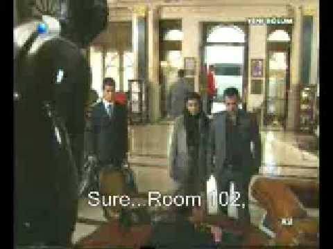Asi 19 bolum plane&hotel elevator scenes English Subtitles