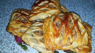 Пирожки на ПРОСТОКВАШЕ в духовке/Быстро и вкусно.