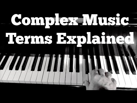 Music Theory 101 – Complex Music Terms Explained