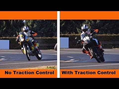 Motorcycle Traction Control Explained | KTM