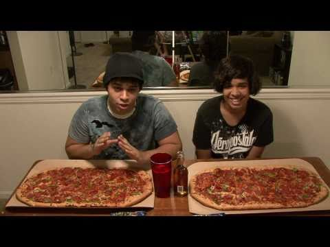 Pizza Hut Eating Competition! thumbnail