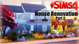 The Sims 4 House Renovation Collab W/maisims: Part 2: Kitchen & Dining