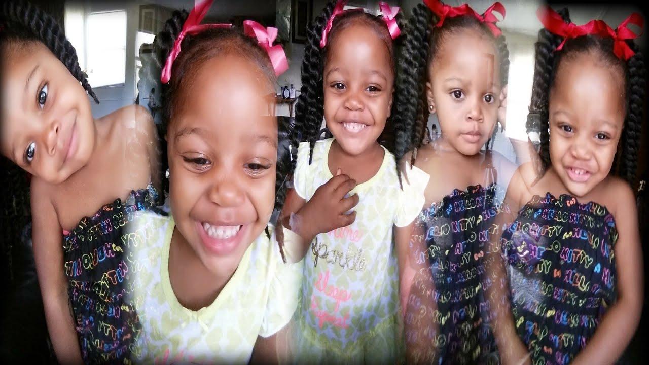 HAVANA MAMBO TWIST PONYTAILS FOR KIDS TUTORIAL YouTube