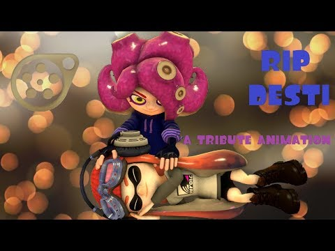 [Splatoon SFM] Desti Tribute Animation - Rest In Peace