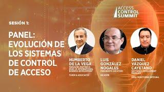 Sesión 1 - Panel: Evolución de los sistemas de control de acceso