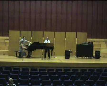Ricardo Matarredona - Brahms Clarinet Sonata n.1, ( II )