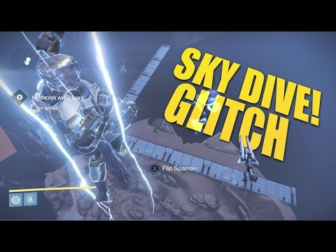 Destiny - New Sky Dive Glitch