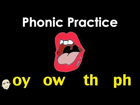 Phonic Practice | oy ow th ph | Easy Pronunciation Practice | ESL/EFL