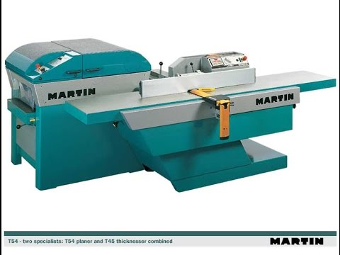 New Martin T54 Surface Planer | Scott+Sargeant Woodworking Machinery