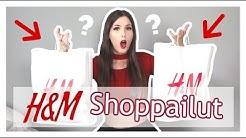 Kävin vähän H&M shoppailulla 🤩