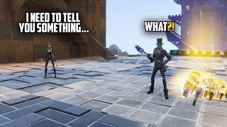 """Becoming """"FRIENDS"""" with the ENEMY in Fortnite"""