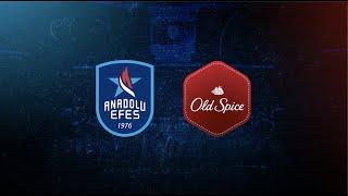 Anadolu Efes Spor Kulübü ve Old Spice Sponsorluk Anlaşması Dijital Basın Toplantısı!