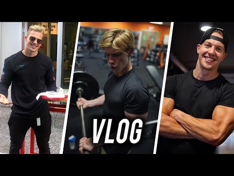 VLOG | FT. HANWE | POWERLIFTING, FOOD & GEKKE WORKOUT