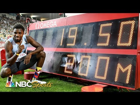 Noah Lyles runs fastest 200 since Usain Bolt in 2012 at Diamond League Lausanne | NBC Sports