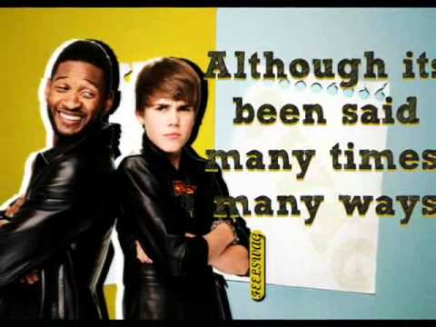 Justin Bieber feat. Usher - The Christmas Song (Lyrics + Letra español)