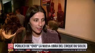 """""""Ovo"""": Llega a Santiago la nueva experiencia del Cirque du Soleil"""