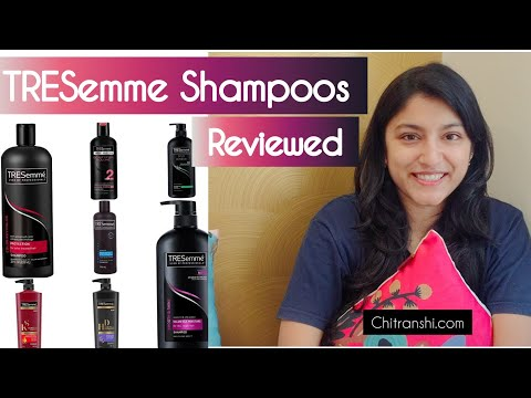 TRESemme Shampoo Review | Tresemme Shampoo for Dry,Damaged,Oily and thin hair