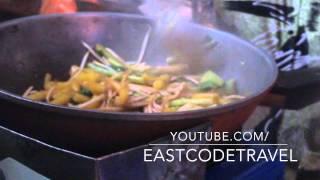 Stir Fried Pasta With Pork  Nui Xào Thịt Heo Vietnamese  Street Food