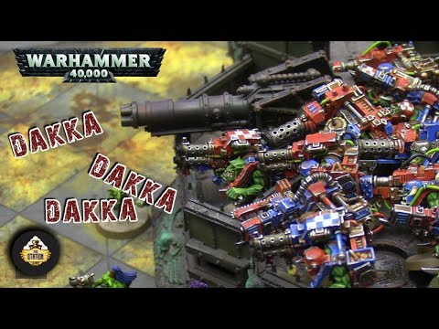 Репорт | Warhammer 40k | Dark Angels VS Orks
