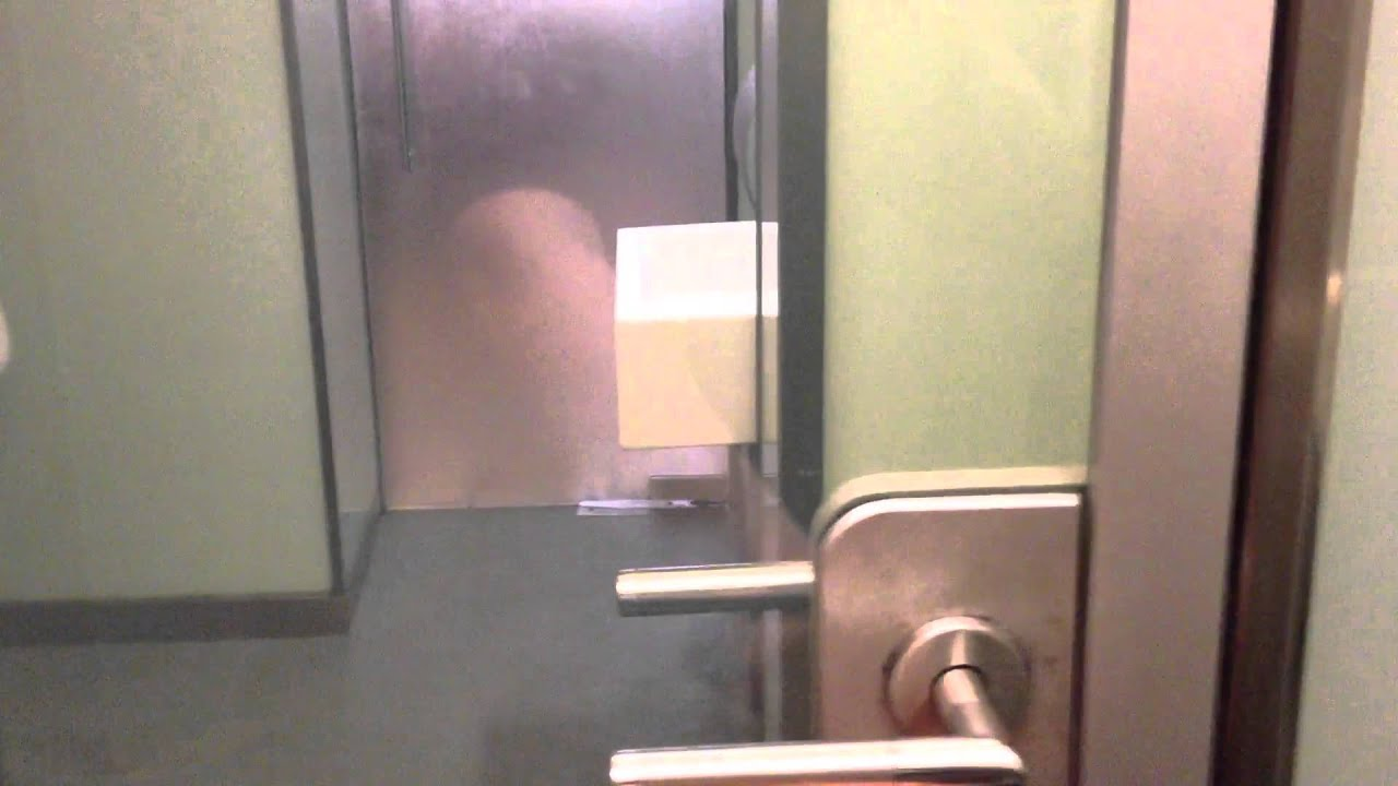 see through toilet door fogs over to protect privacy youtube