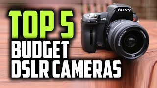 Best Budget DSLR Cameras in 2019 [For Professionals & Beginners]