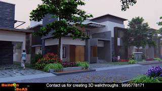 Realistic 3D Walkthrough of a premium villa project