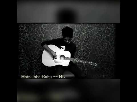 Main Jahan Rahu Namastey London guitar tab - YouTube