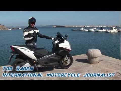 Aprilia SRV 850 Test Ride Review