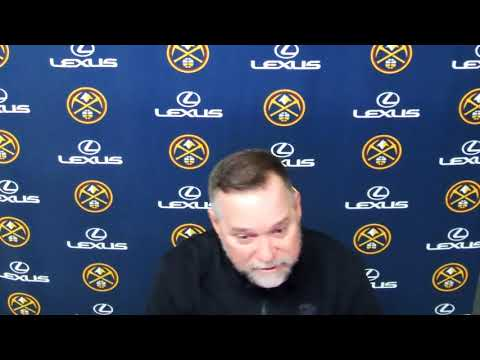 Nuggets head coach Michael Malone gets emotional discussing Boulder, CO tragedy (03/23/2021)