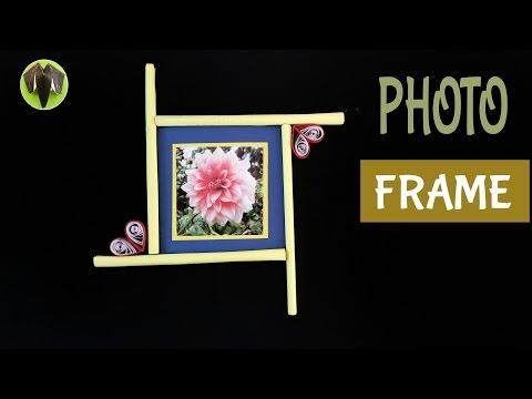 EASY PHOTO FRAME - DIY | Handmade Tutorial by Paper Folds ❤️