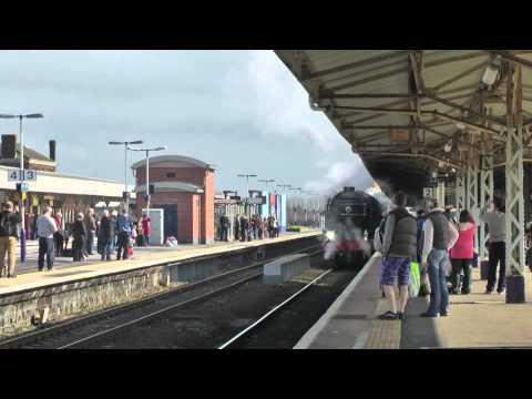 Behind Tornado - London to Plymouth - 9/3/2013