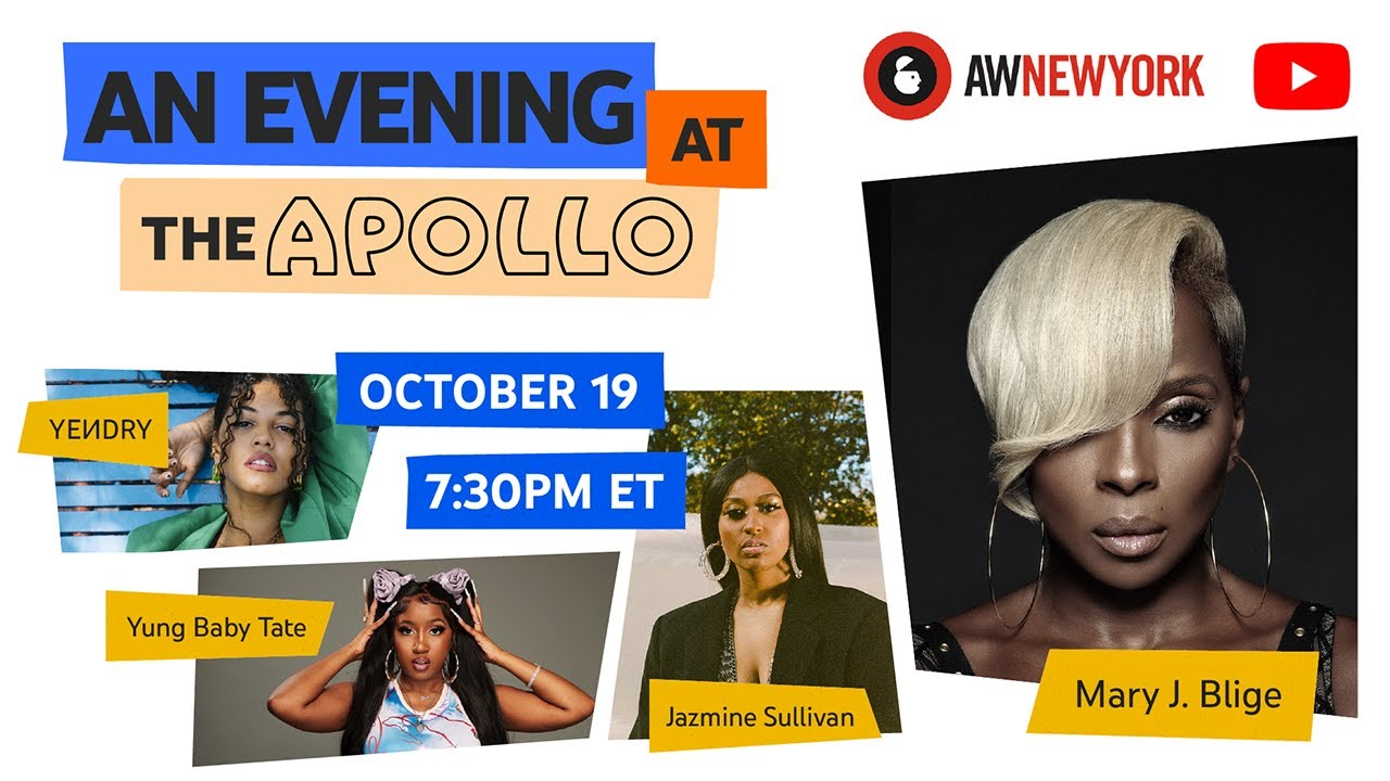 Download #AWNewYork & YouTube Present: An Evening at the Apollo